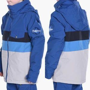 Burton Boys Symbol Jacket Boro Color Block Blue